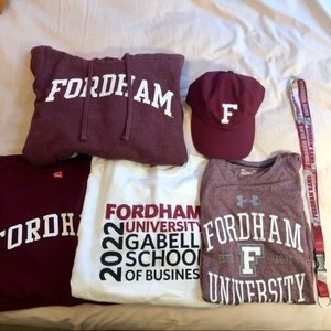 Fordham University Bundle $40!!